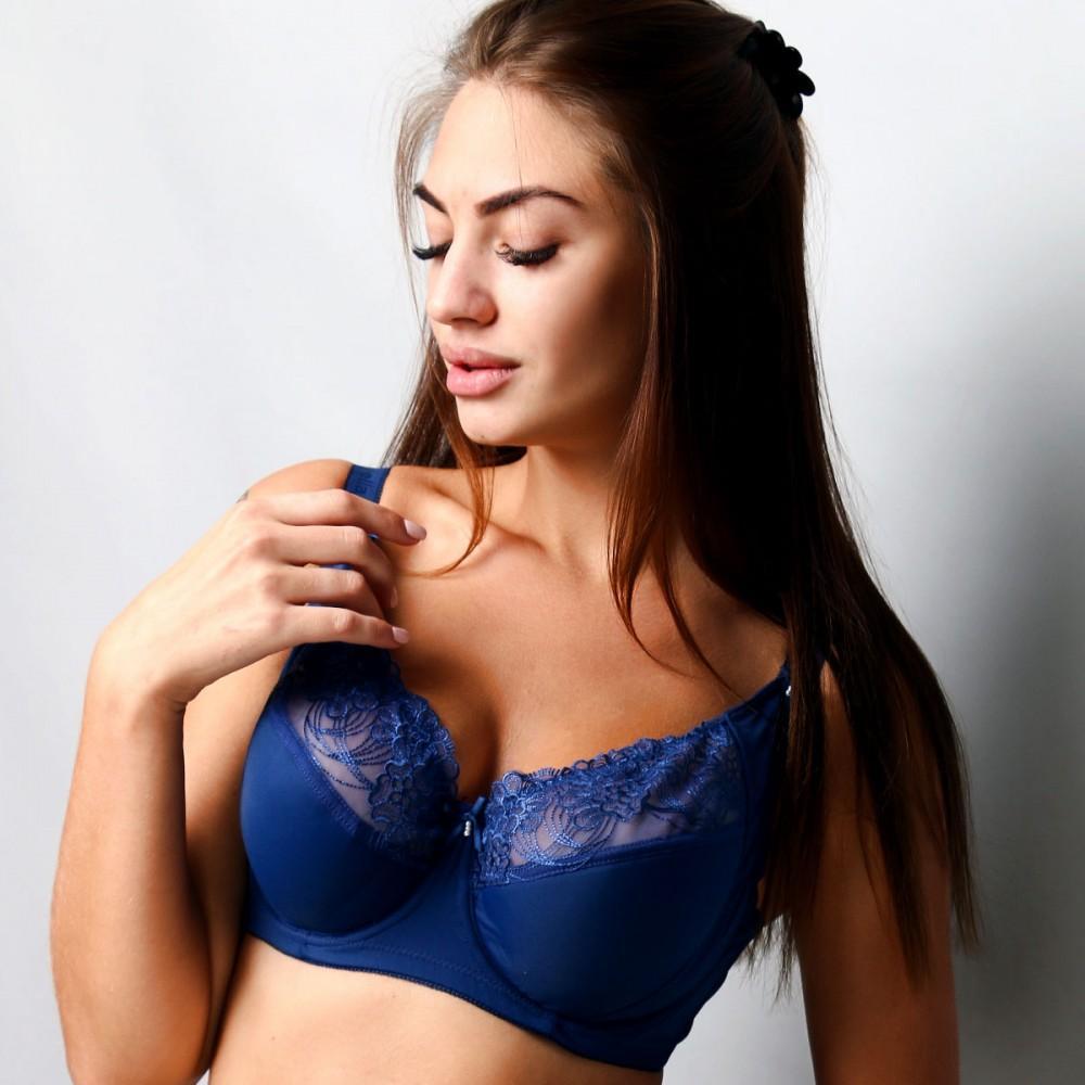 Бюстгальтер Diorella синього кольору 35466 на чашку E Арт.1140189