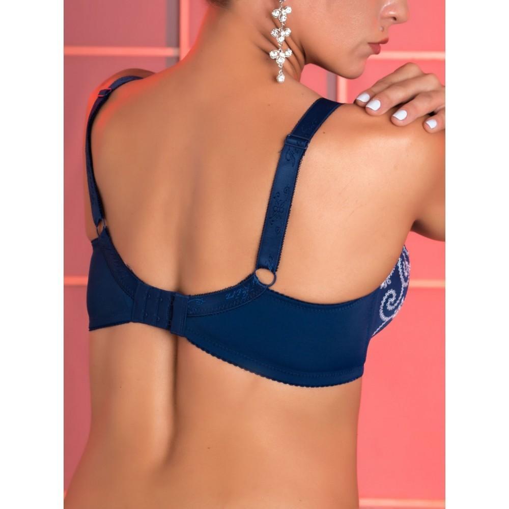 Бюстгальтер синього кольору Finikin 5016 на чашку E Арт.1140319