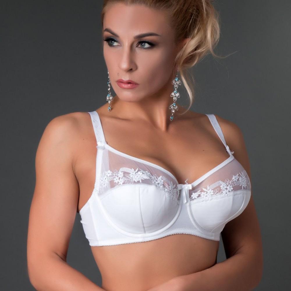 Білий бюстгальтер Diorella 5040 на чашку D  Арт.1140402